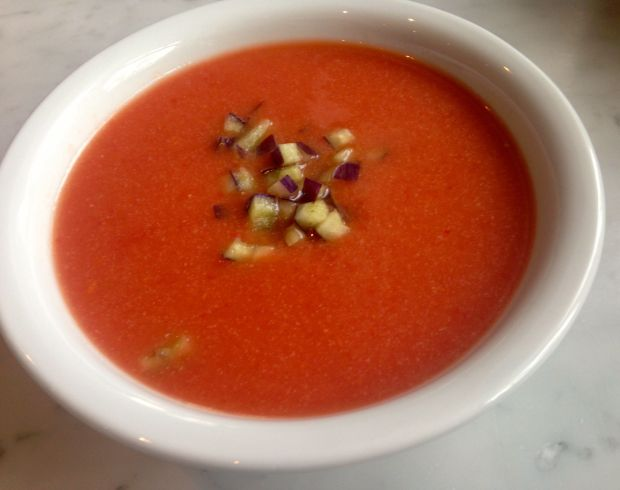 classic andalusian gazpacho