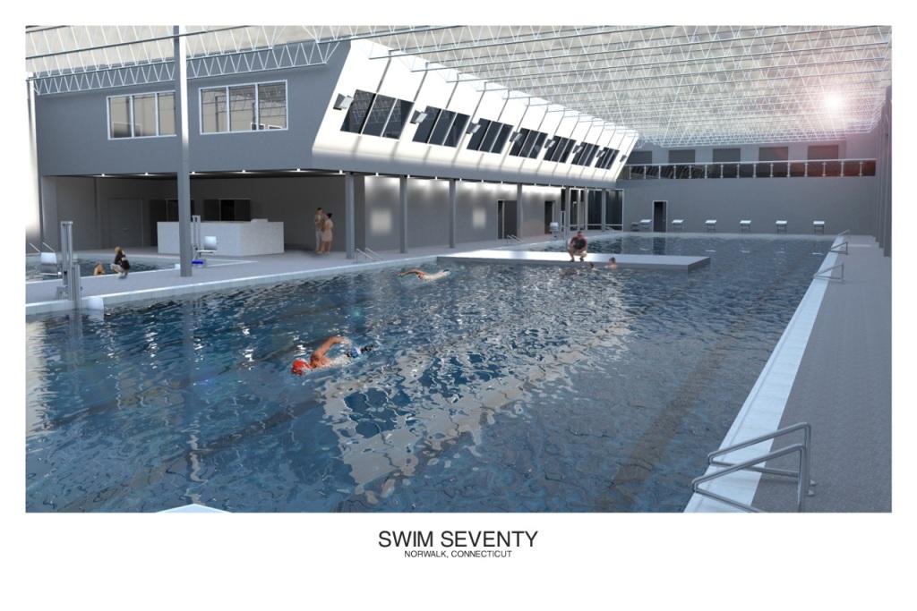 Swim 70 downstairs