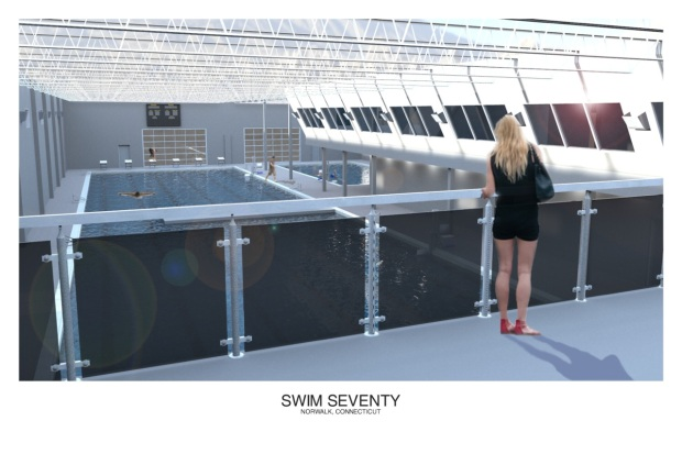 Swim Seventy Rendering, Upstairs
