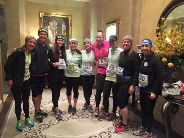 RLAM at NYC half marathon